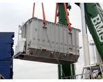 Discharging 152t transformer at Bjaeverskov, Denmark